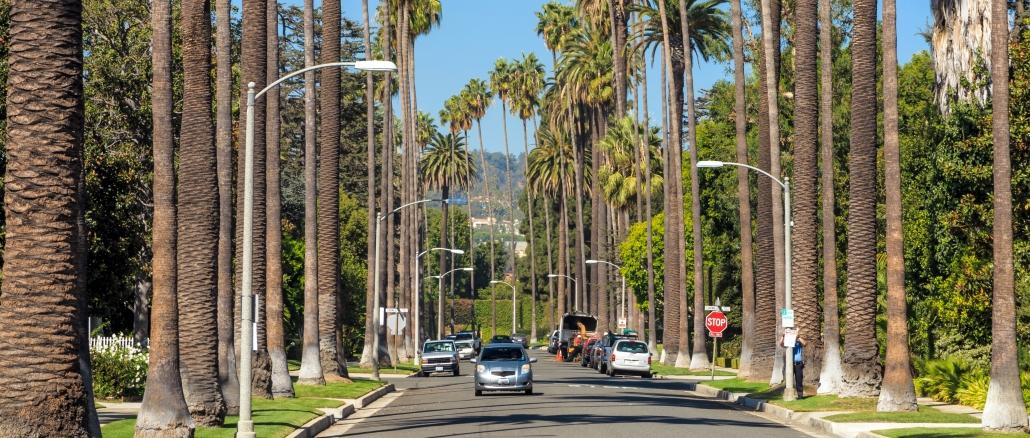 Beverly Hills Ist Eine Exklusive Und Reiche Stadt In